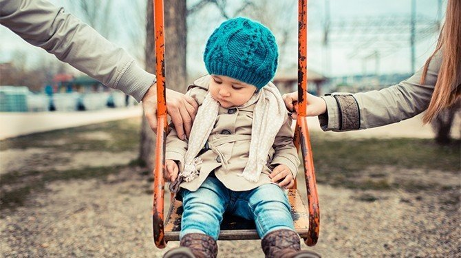 střídavá péče rodinné právo rodina