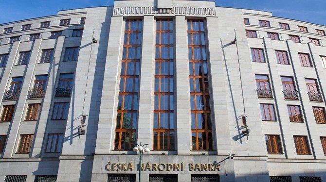Česká národní banka (ČNB), obchodník na finančním trhu