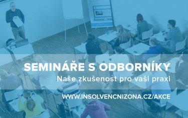 Insolvence seminář webinář