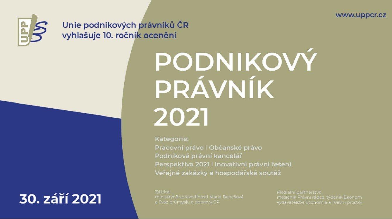 Podnikový právník 2021